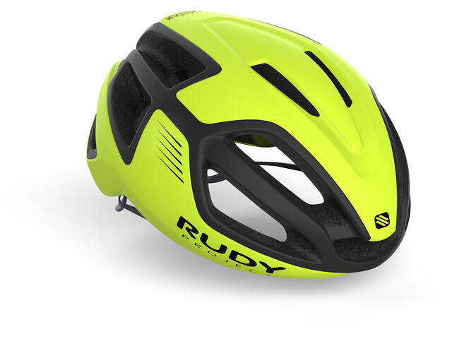 Rudy Project Spectrum Cykelhjälm yellow fluo/black matte